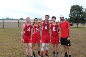 Eagles Men's Cross Country Team Advances