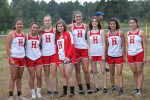 Lady Eagle Cross Country qualifies for Regional