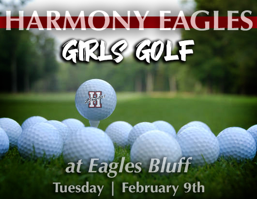girls golf  eagles bluff