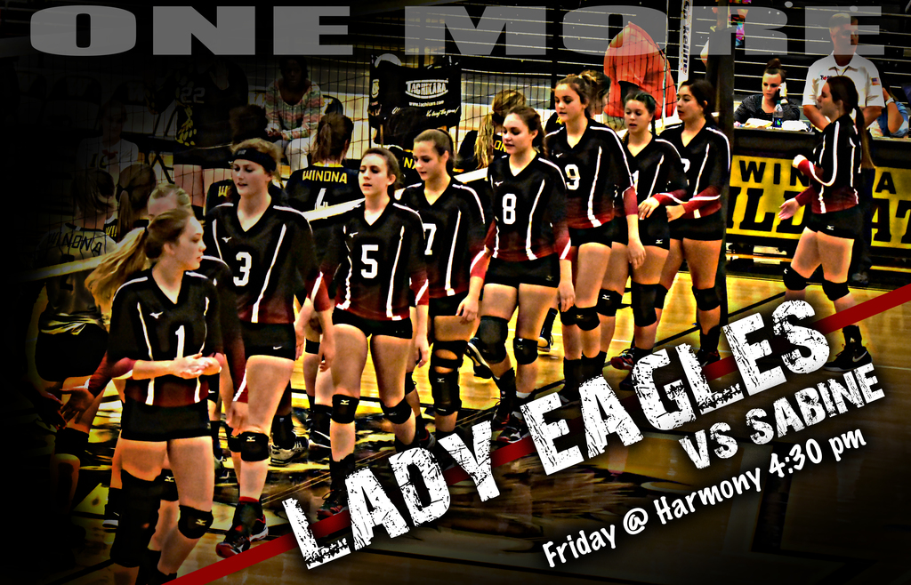 Lady Eagles vs Sabine