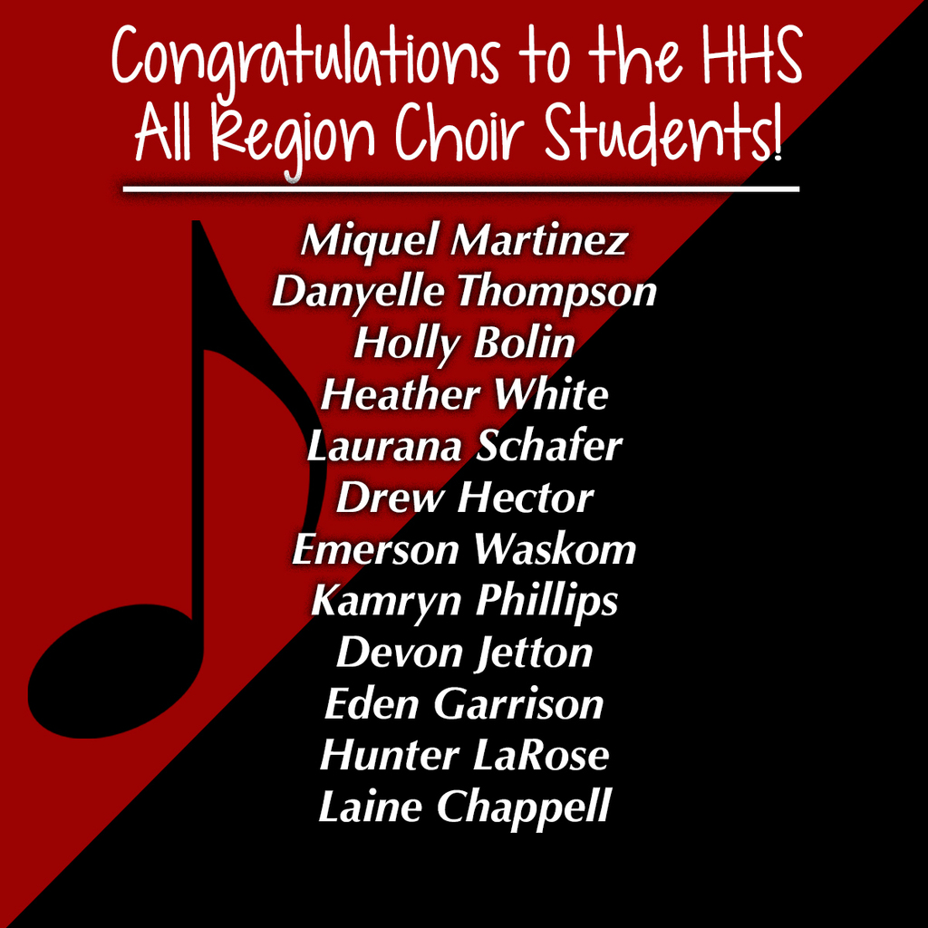 all region choir