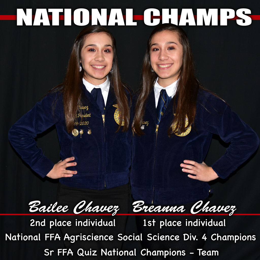 Ag twin national champs