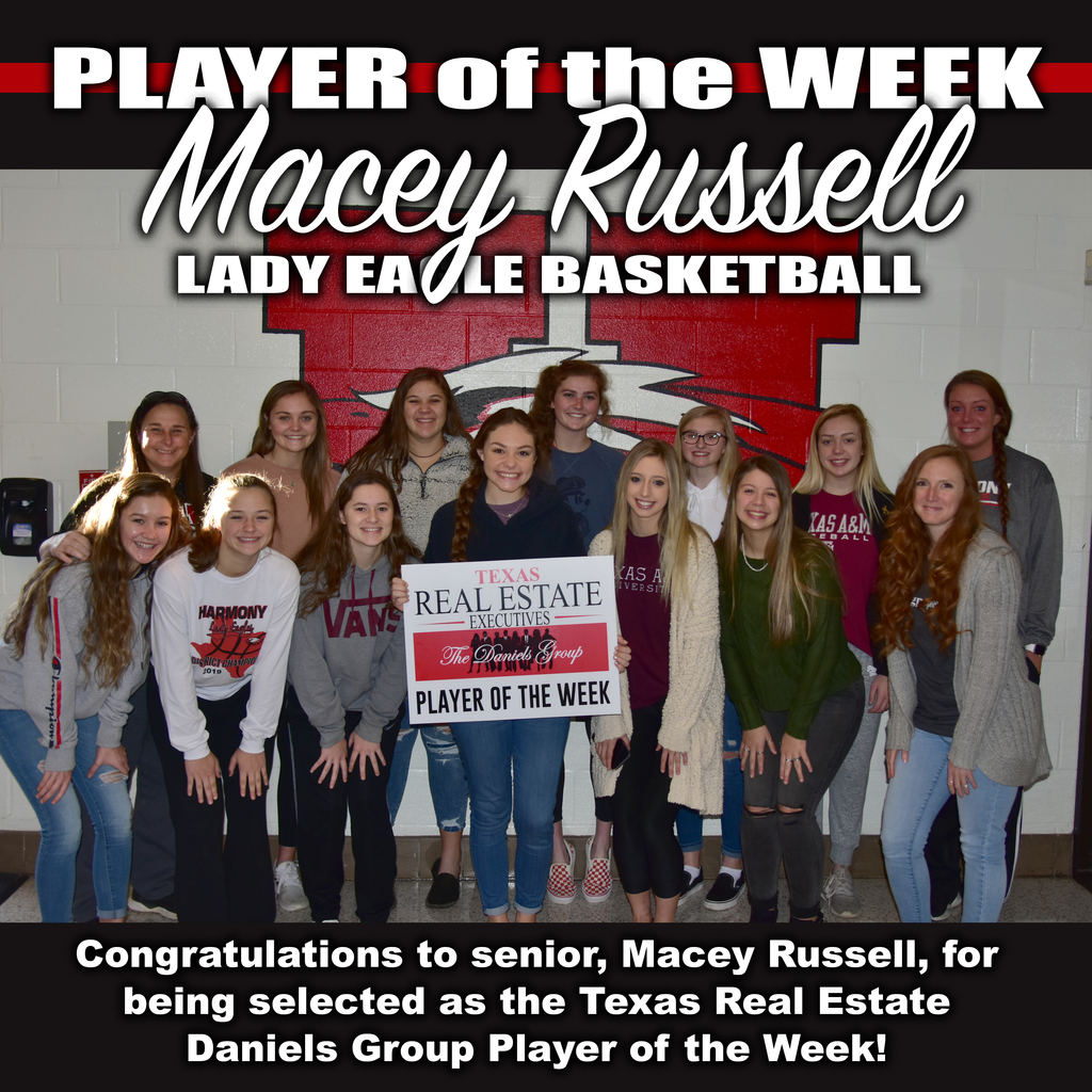 player of the week macey russell