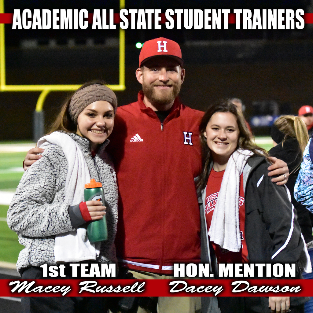 academic all state student trainers