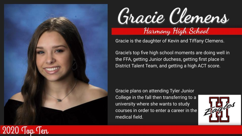 Gracie-Top Ten