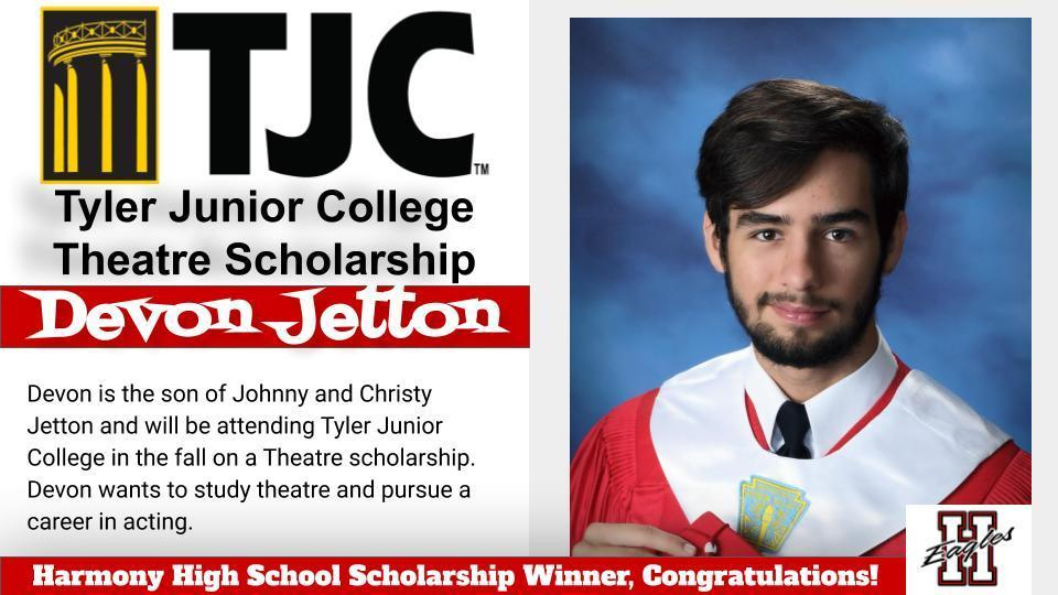 Devon-TJC Theatre Scholarship