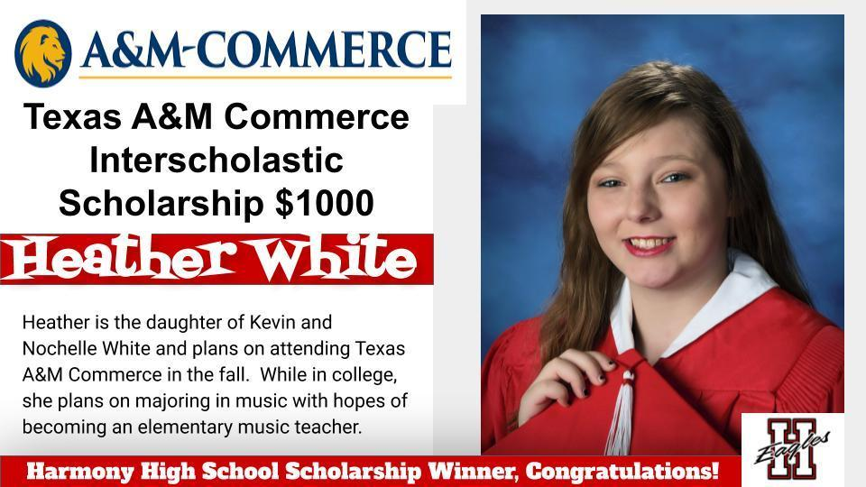 Heather-Interscholastic Scholarship